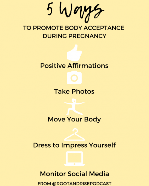 Body Acceptance During Pregnancy